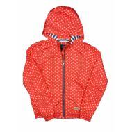 Piros pöttyös átmeneti kabát (176)