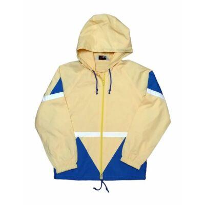 Sárga-kék átmeneti kabát (152)