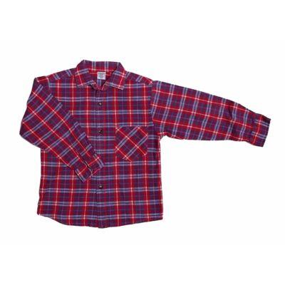 Piros-kék kockás ing (104)