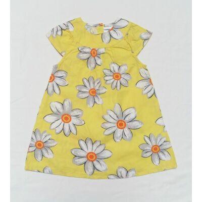 41f1cf60fd Sárga-szürke virágos ruha (80) - 80-86 (9-18 hónap) - Minőségi angol ...