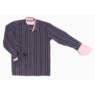 Barna-rózsaszín ing (128)