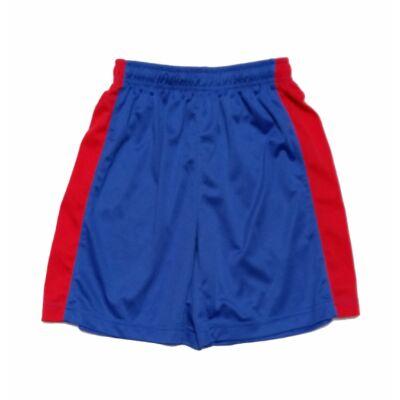 Kék-piros sport short(164)