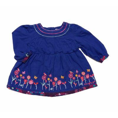 Liláskék himzett ruha (68)