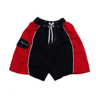 Fekete-piros short (116)