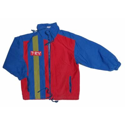 Kék-piros kabát (140)