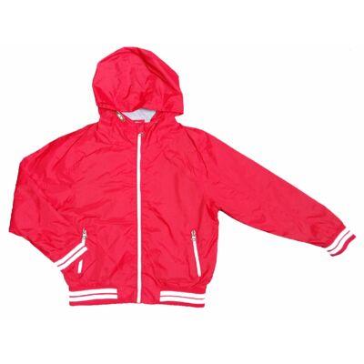 Piros-fehér átmeneti dzseki (140)