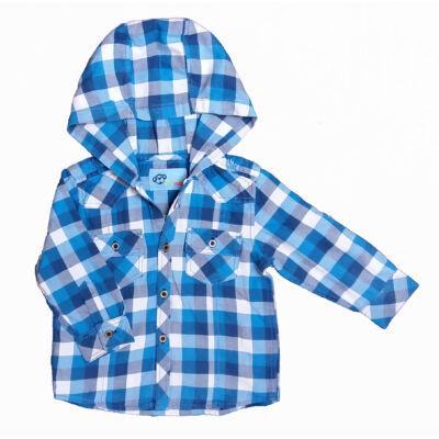 Kék kockás ing (86)