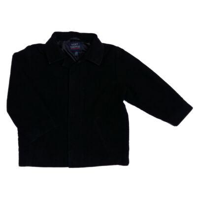Fekete düftin kabát (104)