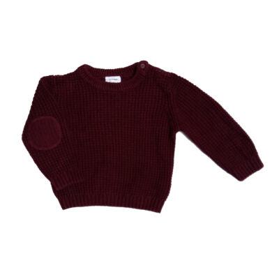 Bordó pulóver (74)