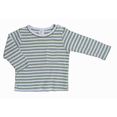 Zöld csíkos póló (74)