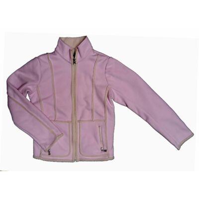 50edc37b7a Rózsaszín himzett műirha kabát (146) - 140 és nagyobb (9 év és ...