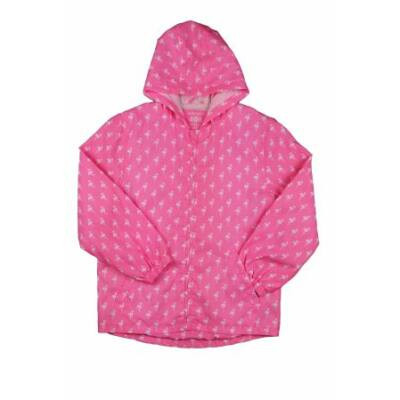 Pink flamingós átmeneti kabát (140)