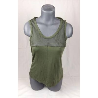 Zöld hálós top (M)