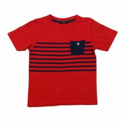 5a07395f0c3b Piros-kék póló (104) - 104-110 (3-5 év) - Minőségi angol használt és ...
