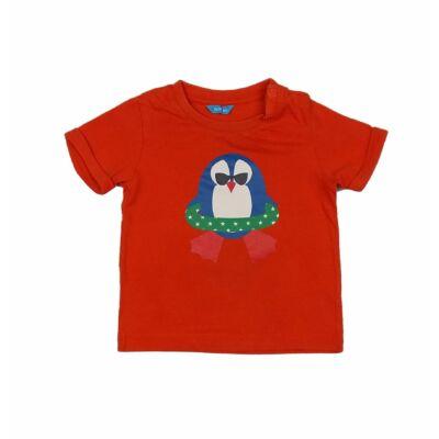 Narancs pingvines póló (80)