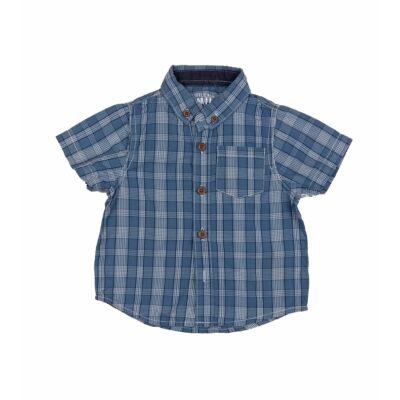 Kék kockás ing (80)