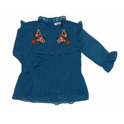 Kék himzett tunika (140)