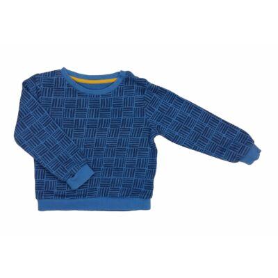 Kék kockás pulcsi (98)