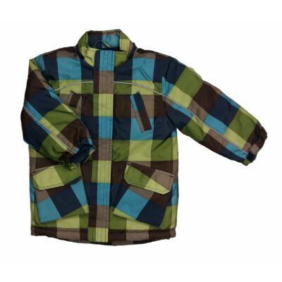 Zöld barna kockás dzseki (92)