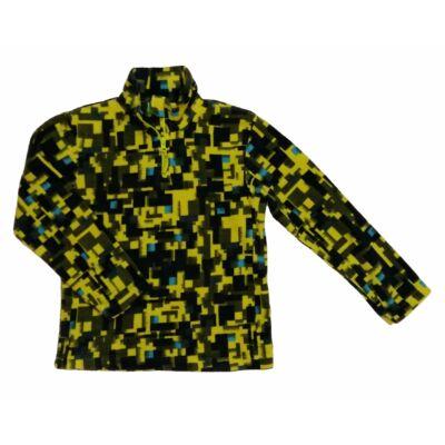 Zöld kockás mintás pulcsi (116)