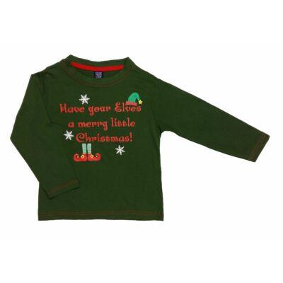Zöld karácsonyi póló (104)