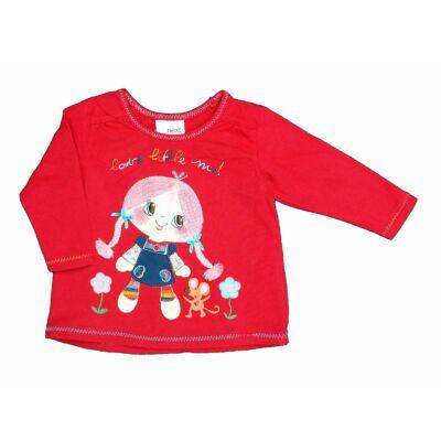 Piros kislányos póló (68)