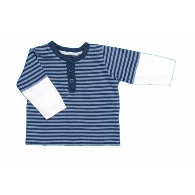 Kék csíkos póló (62)