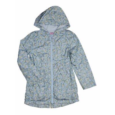 Kék apróvirágos átmeneti kabát (140)