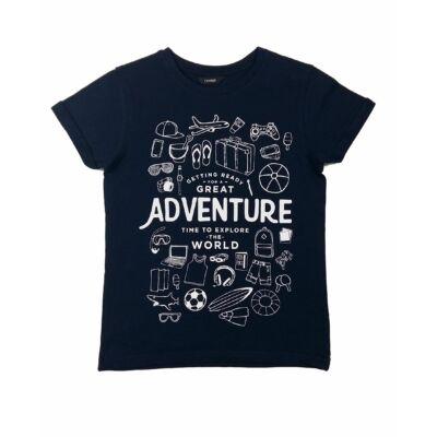 Kék adventure póló (134)
