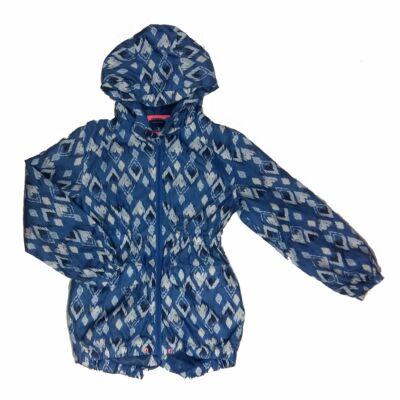 Kék mintás átmeneti kabát (140)