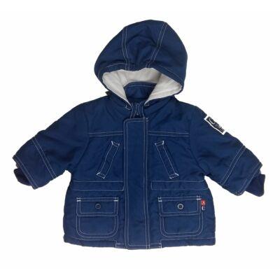 Kék zsebes átmeneti kabát (62)