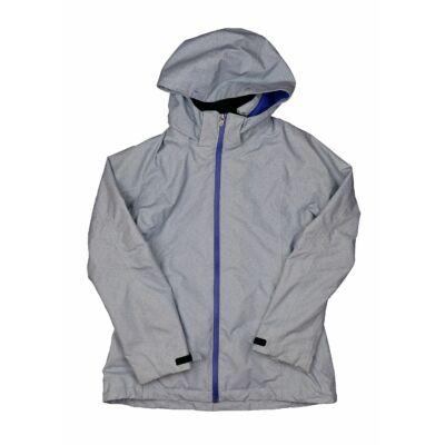 Volágoskék-lila átmeneti kabát (164)