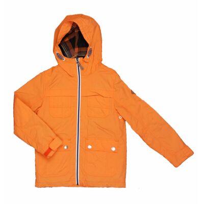 Narancs zsebes átmeneti kabát (128)