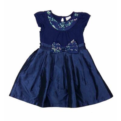 Kék flitteres alkalmi ruha (116)
