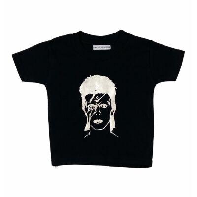 Fekete arcos póló (68)