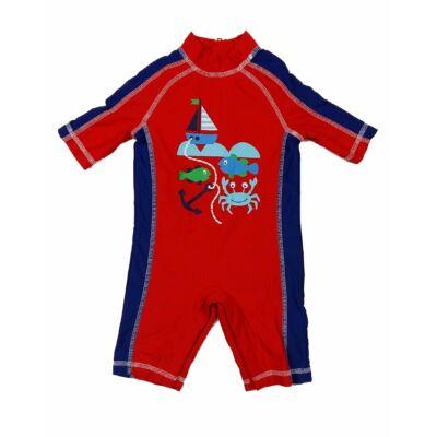 Piros-kék hajós úszóruha (80)