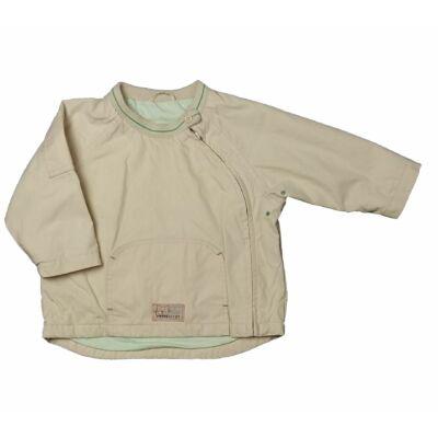 Krém-zöld átmeneti kabát (86)