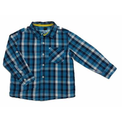 Kék kockás ing (104)