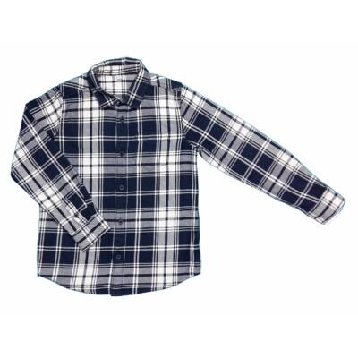Kék-fehér kockás ing (134)