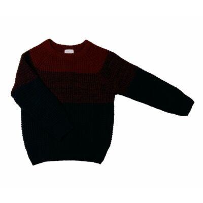 Kék-bordó pulcsi (104)