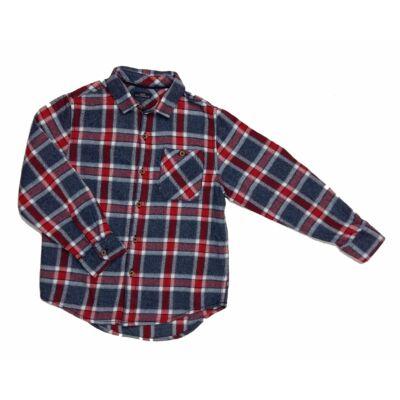 Piros-kék kockás ing (116)