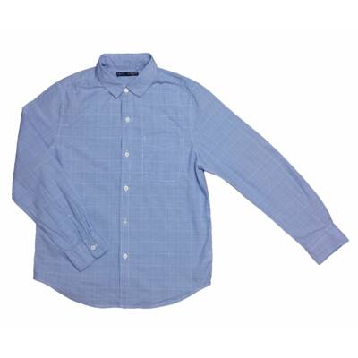 Kék kockás ing (140)