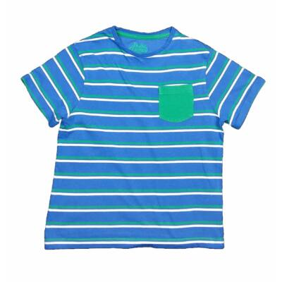 Kék-zöld csíkos póló (128)