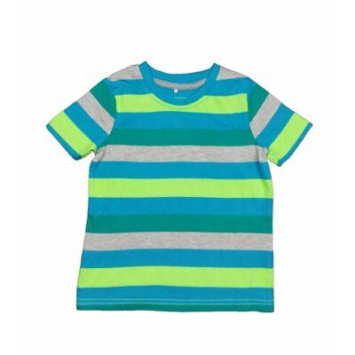 Kék-zöld csíkos póló (98)
