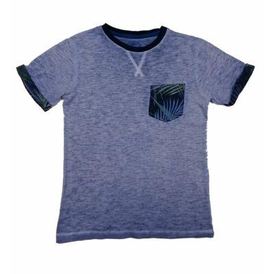 Kék zsebes póló (134)