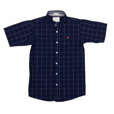 Kék kockás ing (158)