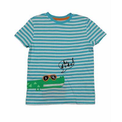 Csíkos krokodilos póló (134)