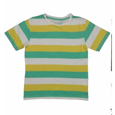 Zöld-sárga csíkos póló (146)