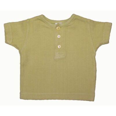 Zöld gombos póló (56)