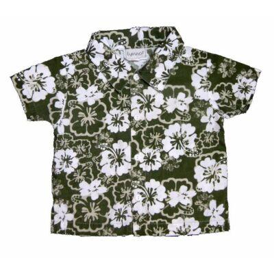 Zöld virágos ing (86)